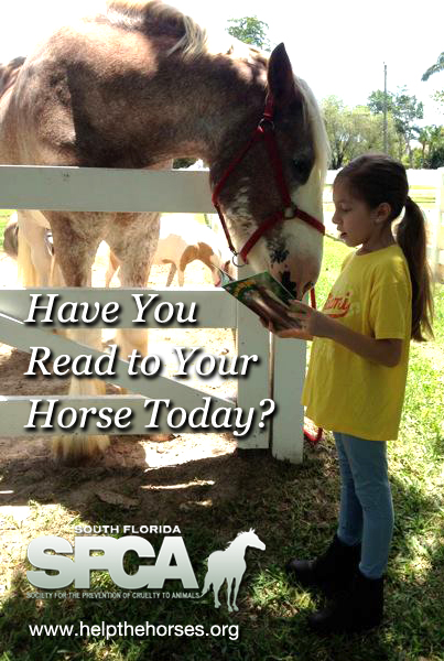 "09 Dec South Florida SPCA to host ""Reading to Rescues"""