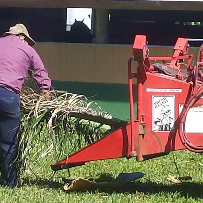 Heavy Equipment Volunteering
